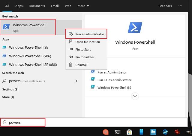 Resolver el error 0x80246019 en Windows 10