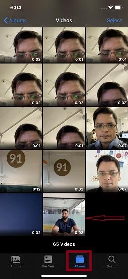 Превратите живые фотографии в видео на iPhone