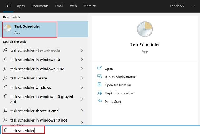 автоматизировать задачи на Windows 10