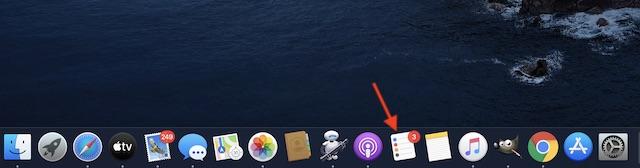 Inicie la aplicación Recordatorios en Mac