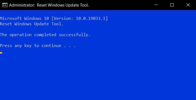 Windows 10 застрял на проверке обновлений 6