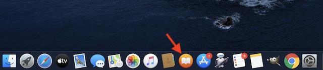 Abre Apple Books en tu Mac