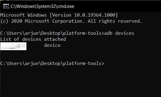 Installieren Sie ADB unter Windows