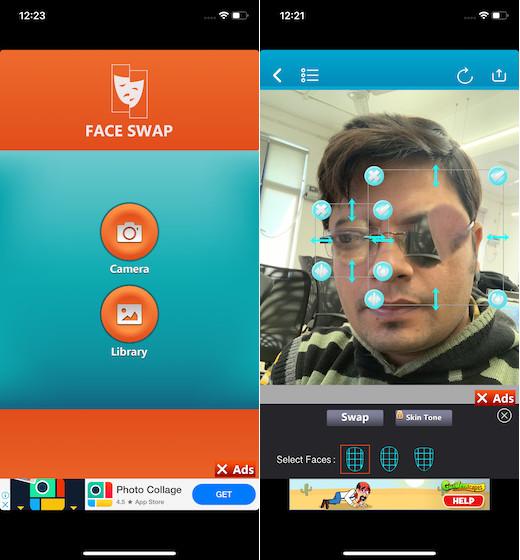Приложение Face Swap