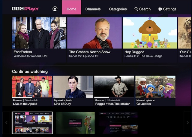 PS4 BBC iPlayer