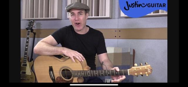 Джастин Гитара Уроки для начинающих