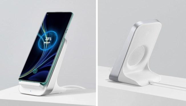 oneplus wireless charging dock - with fan