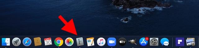 Abra la aplicación Font Book en su Mac