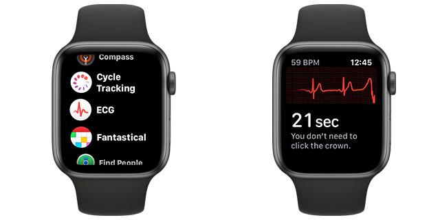 apple watch ecg measurement