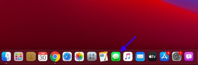 Приложение «Открытые сообщения» на Mac