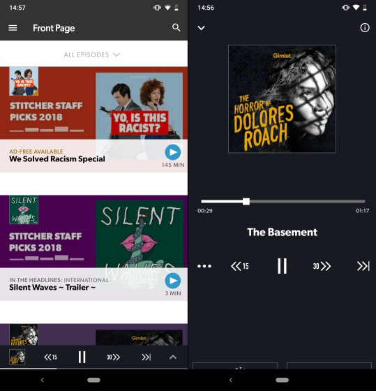 stitcher-home-screen-and-сейчас-play-screen