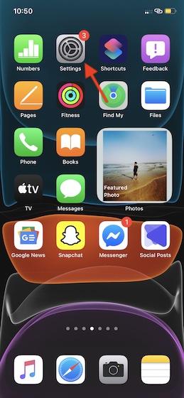 Как включить полноэкранные входящие звонки в iOS 14