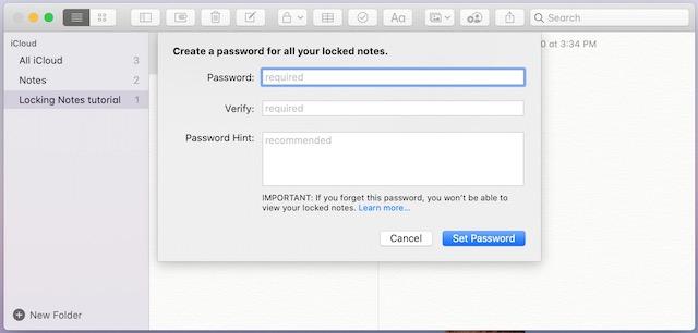3. Ввод пароля