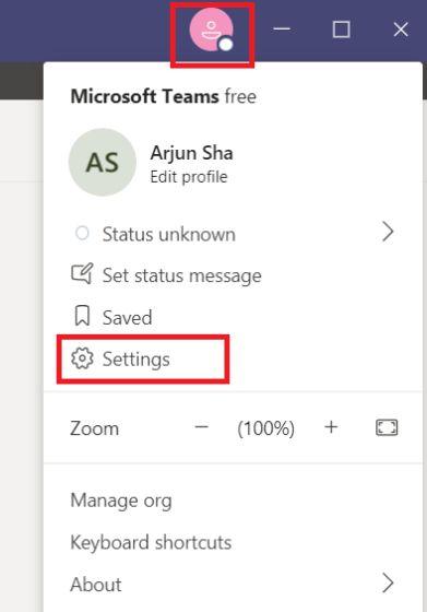 Habilitar el modo juntos en Microsoft Teams