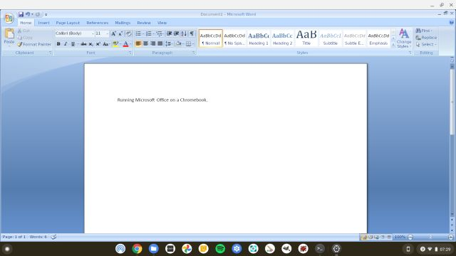 Office chromebook