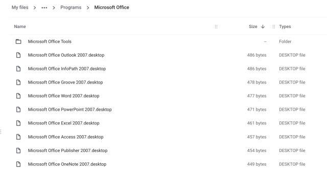 Instalar Microsoft Office en una Chromebook
