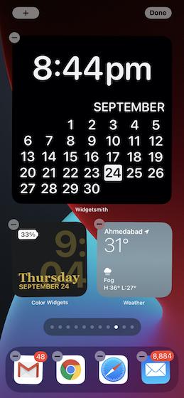 Пользовательский виджет на главном экране