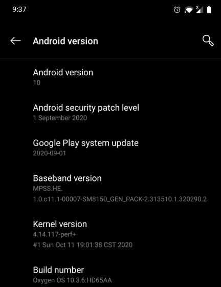 Обновление системы Google Play на Android