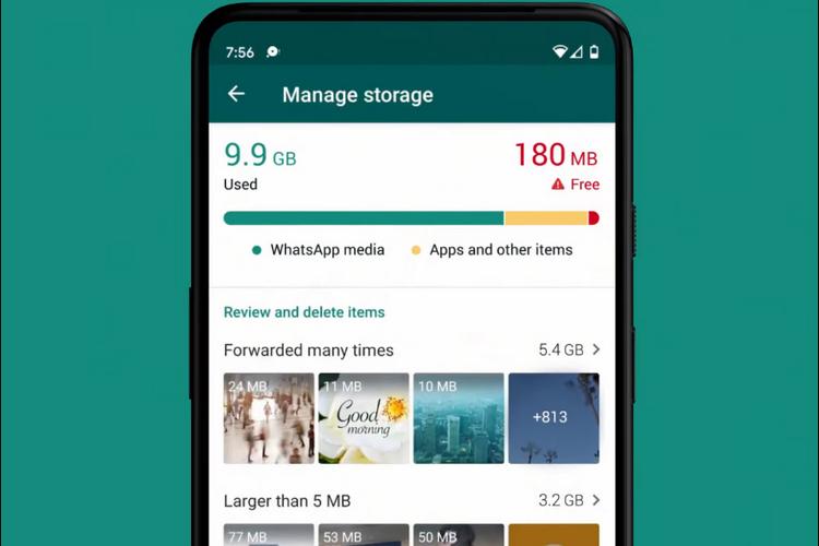 Storage Management Tool WhatsApp