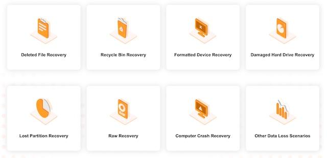 3. Поддерживает восстановление данных для нескольких сценариев потери данных.