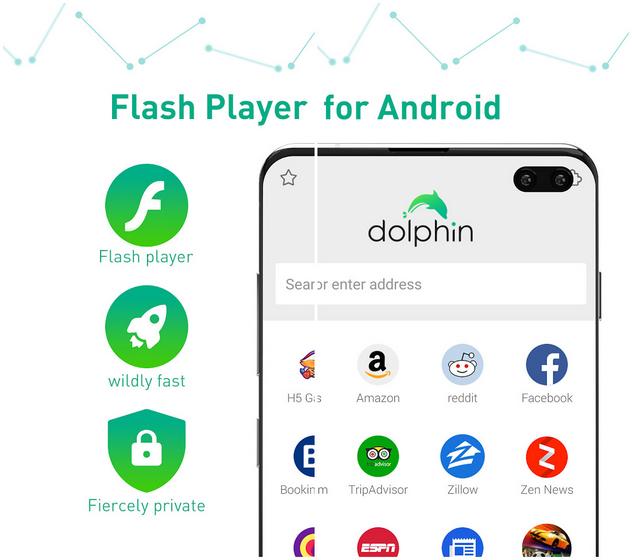 Самые опасные приложения для Android Браузер Dolphin