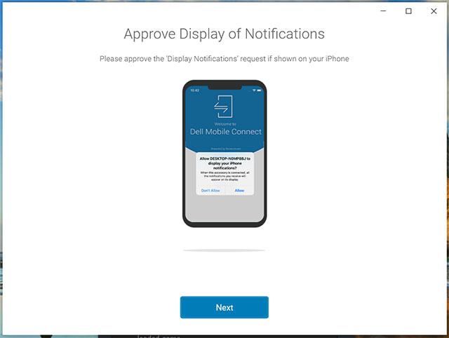 дать разрешения для мобильного подключения dell