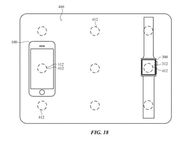 Apple macbook wireless charging patent
