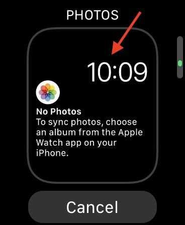Установить фото в качестве обоев на Apple Watch