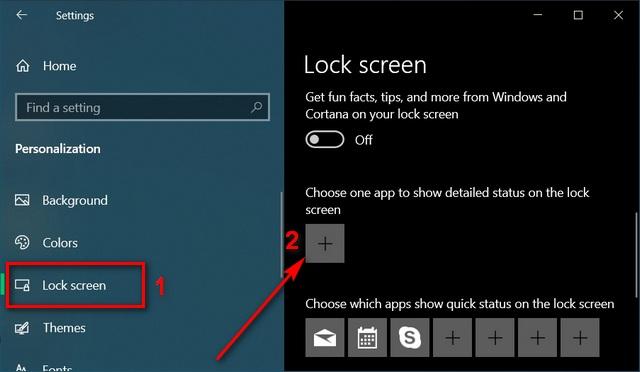 изменить настройки уведомлений Отключить уведомления на экране блокировки Windows 10
