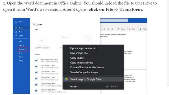 сохранить изображение на Google диск