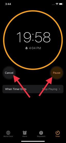 Halten Sie den Apple Music Sleep-Timer an
