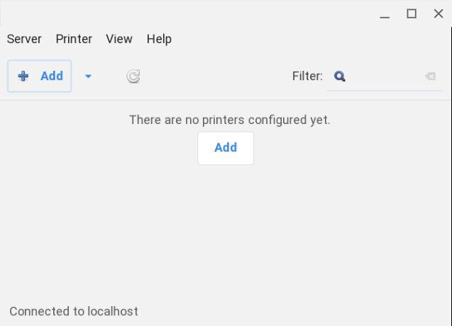Utilice una impresora en aplicaciones de Linux en Chromebook (2021)