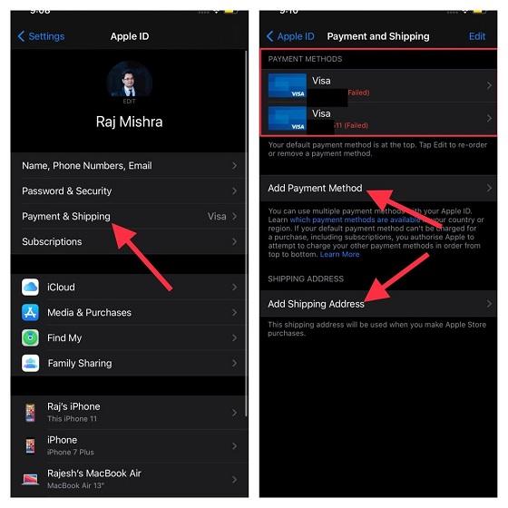 Actualizar la ID de Apple en iPhone y iPhone
