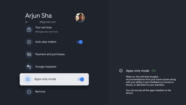 Отключить персональные рекомендации в Google TV (2021 г.)