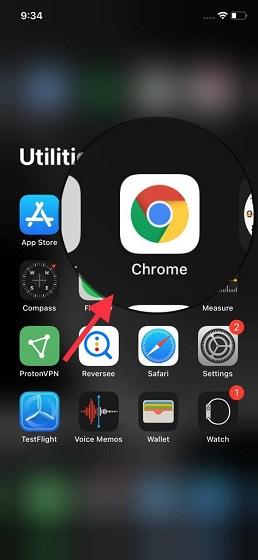Abrir Google Chrome