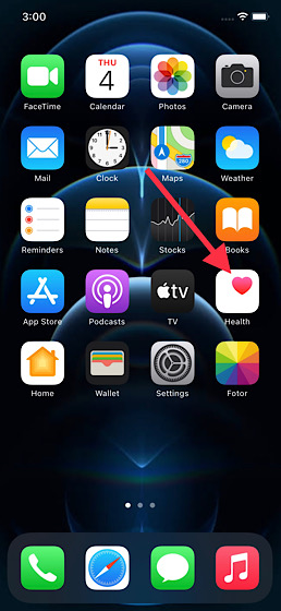 Aplicación-Open-Health-en-iPhone-