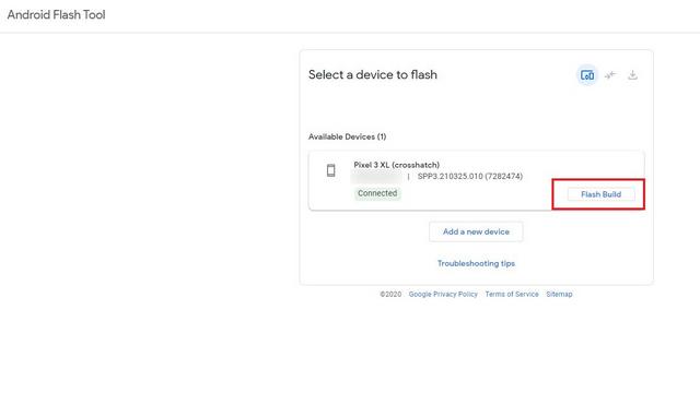 flash build android flash tool - Instalar Android 12 Beta