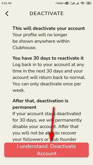 Cómo desactivar o eliminar la casa club en Android y iPhone (iOS)