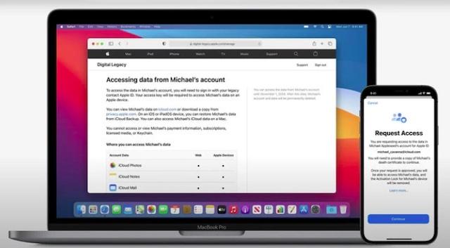 Solicitar acceso a los datos de la cuenta de un familiar fallecido - Apple Digital Legacy