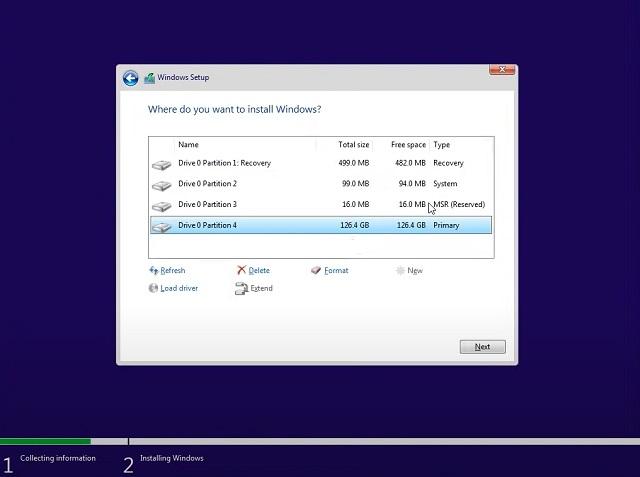 clean installation - Windows 10 from Windows 11