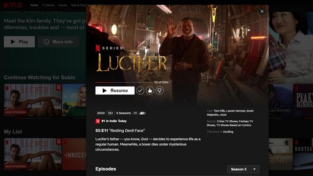 Inhalte auf Netflix abspielen