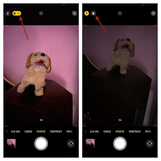 Desactivar el modo nocturno en iPhone