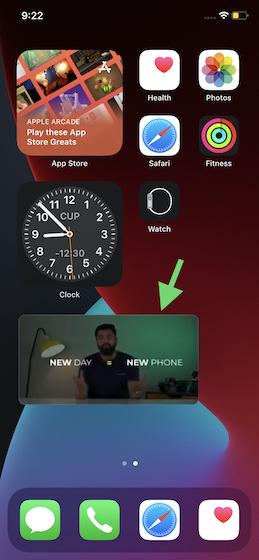 Use el acceso directo de Siri para reproducir videos de YouTube en el modo PiP: use el modo de imagen en imagen (PiP) de YouTube en el iphone