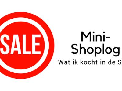 Ik kocht toffe kleding in de sale, wat ik kocht laat ik zien in deze mini-shoplog.