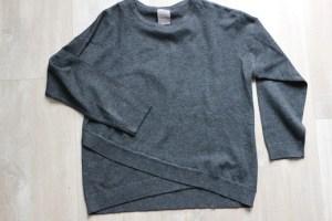 Shoplog herfstcollectie meisjes 2018 Zara antraciet sweater trui