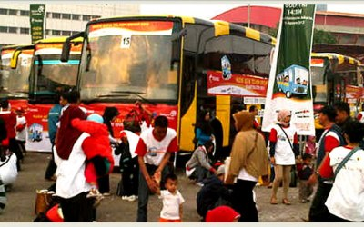 MUDIK BERSAMA, TELKOMSEL INDONESIA AND BEE BUZZ