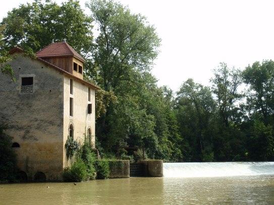 River Baise Nerac France