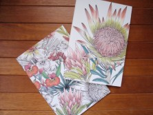Blogger gift swap floral notebooks