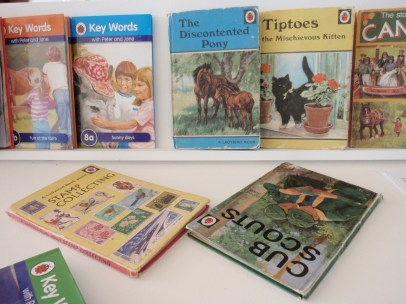 Ladybird books on display