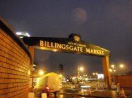 Billingsgate market gate